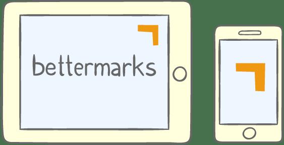bettermarks für Tablet und Smartphone