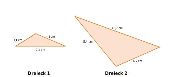 Ähnlichkeit von Dreiecken - bettermarks