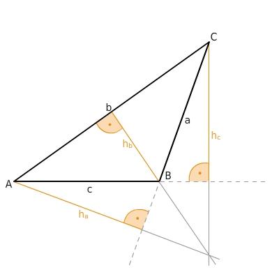 Eigenschaften von dreiecken bettermarks for Hohe rechtwinkliges dreieck