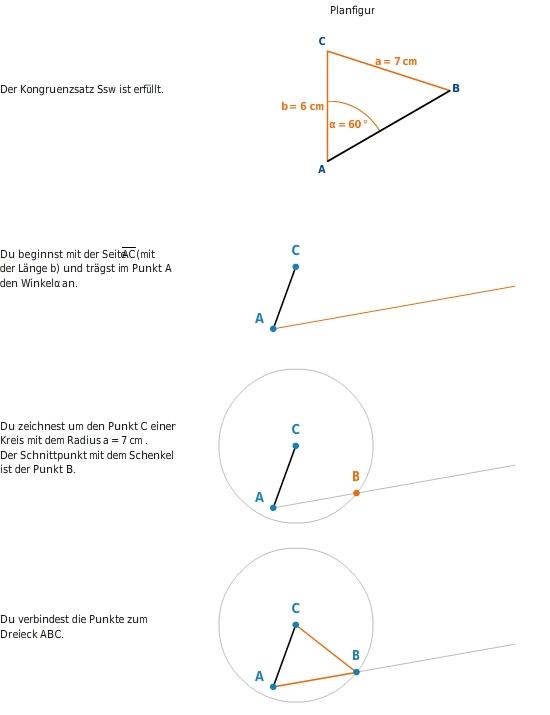 Dreieckskonstruktionen und Kongruenzsätze - bettermarks Bettermarks