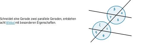 Beziehungen zwischen Winkeln - bettermarks
