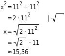 kem GeoII GeoIISGdPAnw 10 Anwendungen zum Satz des Pythagoras