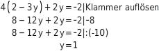 kem LGuU LGuUELGSEsv 11 Einsetzungsverfahren zum Lösen linearer Gleichungssysteme