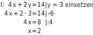 kem LGuU LGuUELGSEsv 19 Einsetzungsverfahren zum Lösen linearer Gleichungssysteme