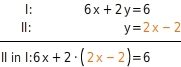 kem LGuU LGuUELGSEsv 2 Einsetzungsverfahren zum Lösen linearer Gleichungssysteme