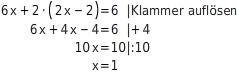 kem LGuU LGuUELGSEsv 3 Einsetzungsverfahren zum Lösen linearer Gleichungssysteme