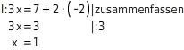 kem LGuU LGuUELGSGsv 11 Gleichsetzungsverfahren zum Lösen linearer Gleichungssysteme
