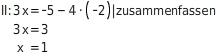 kem LGuU LGuUELGSGsv 12 Gleichsetzungsverfahren zum Lösen linearer Gleichungssysteme