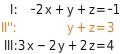 kem LGuU LGuUELGSdV 12 Lösen linearer Gleichungssysteme mit drei Variablen
