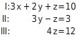 kem LGuU LGuUELGSdV 2 Lösen linearer Gleichungssysteme mit drei Variablen