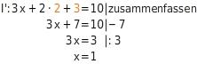 kem LGuU LGuUELGSdV 5 Lösen linearer Gleichungssysteme mit drei Variablen