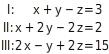 kem LGuU LGuUELGSdV 6 Lösen linearer Gleichungssysteme mit drei Variablen
