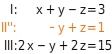 kem LGuU LGuUELGSdV 7 Lösen linearer Gleichungssysteme mit drei Variablen