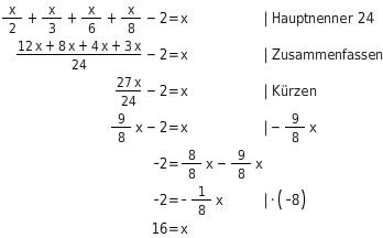 Anwendungen zu Gleichungen - bettermarks