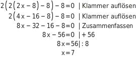 kem LGuU LGuULGAnw 5 Anwendungen zu Gleichungen