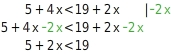 kem LGuU LGuULULvU 3 Lösen von Ungleichungen
