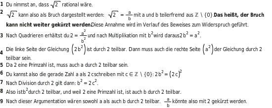 kem ReZ ReZRuIIZKl 5 Irrationale Zahlen kennenlernen