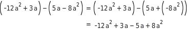 kem T TRAuSTKde 1 Addition und Subtraktion von Termen mit Klammern