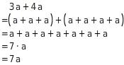 kem T TRAuS 1 Addition und Subtraktion von Termen