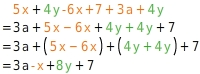 kem T TRAuS 3 Addition und Subtraktion von Termen