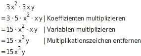 kem T TRMul 5 Multiplikation von Termen
