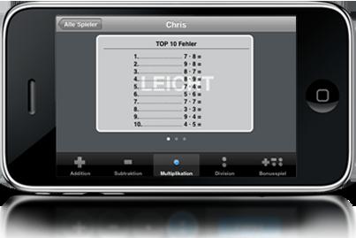 iphone5 Kopfrechnen auf dem iPhone