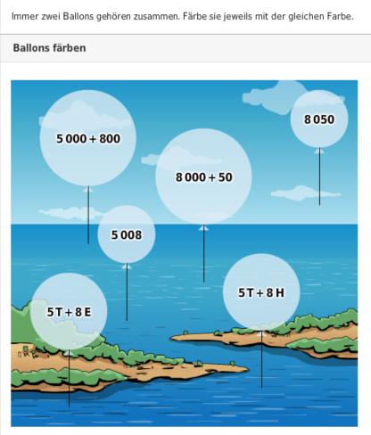 ballons Lernen